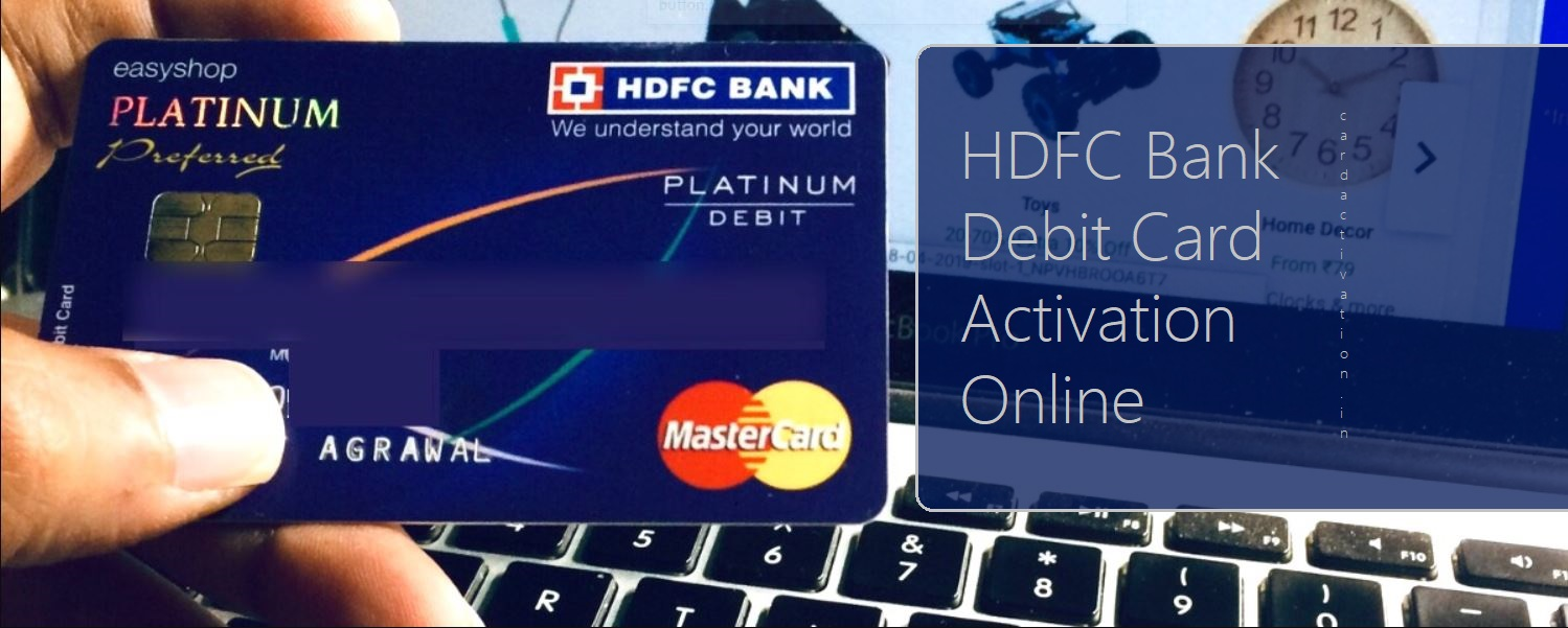 HDFC Debit Card PIN Generation Online