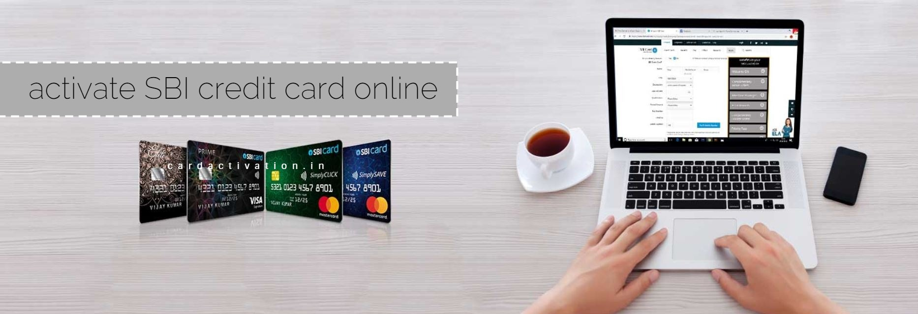 SBI Credit Card Activation